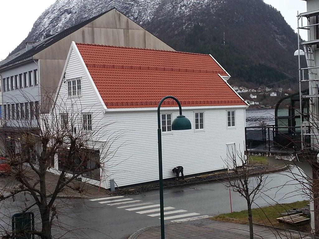 Teglstein i Hansa stil